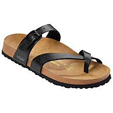 Buy Birkenstock Tabora Cross Strap Leather Sandals Online at johnlewis.com