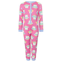 Buy John Lewis Girl Owl Onesie Online at johnlewis.com