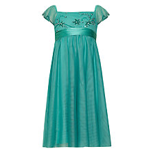 Buy John Lewis Girl Party Dress, Green Online at johnlewis.com