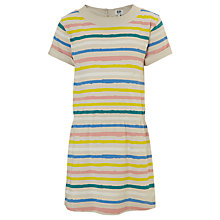 Buy Kin by John Lewis Girls' Striped Dress, Multi Online at johnlewis.com