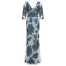 Buy Somerset by Alice Temperley Lace Long Dress, Blue Online at johnlewis.com