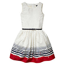 Buy Tommy Hilfiger Dahlia Dress, White Online at johnlewis.com