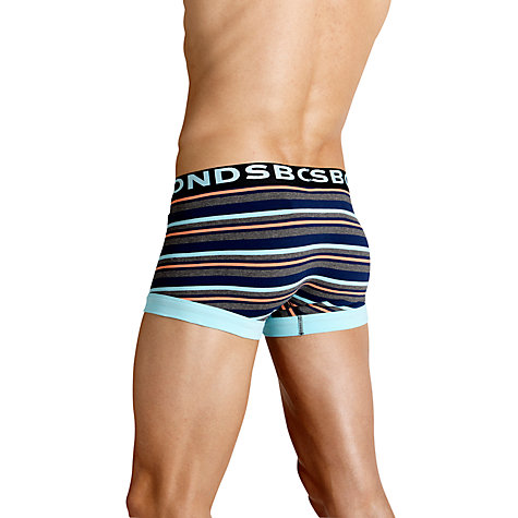 Buy Bonds Stripe Fitted Trunks Online at johnlewis.com