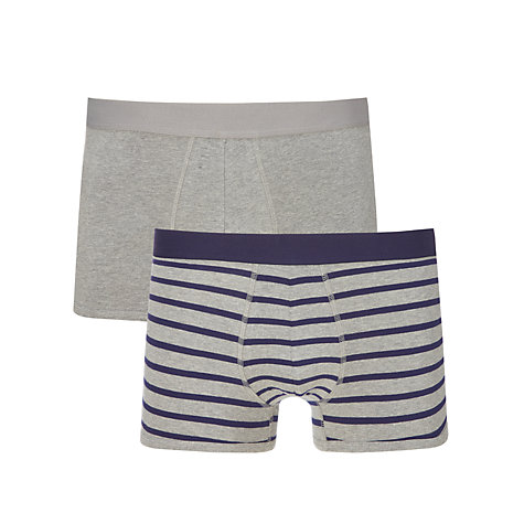 Buy Kin by John Lewis Stripe Trunks, Pack of 2 Online at johnlewis.com