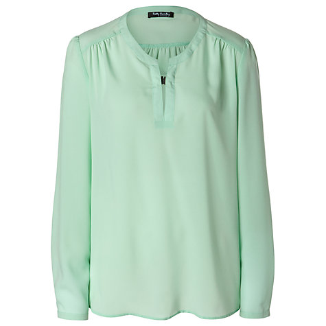 Buy Betty Barclay Clip Blouse, Light Mint Online at johnlewis.com