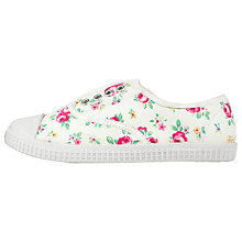 Buy Cath Kidston Plimsolls, Kensington Rose Online at johnlewis.com