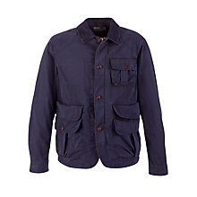 Buy Polo Ralph Lauren Lightweight Field Jacket, Oak Ridge Navy Online at johnlewis.com