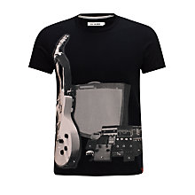 Buy Ben Sherman Guitar Print T-Shirt Online at johnlewis.com