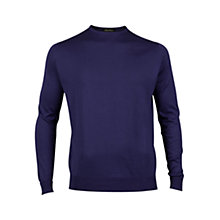 Buy John Smedley Lyndhurst Sea Island Cotton Jumper Online at johnlewis.com