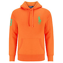 Buy Polo Ralph Lauren Number 3 Hoodie Online at johnlewis.com