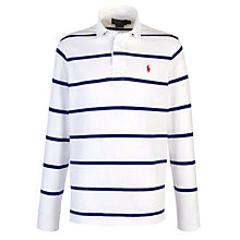 Buy Polo Ralph Lauren Stripe Rugby Shirt Online at johnlewis.com