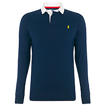 Buy Polo Ralph Lauren Plain Rugby Shirt Online at johnlewis.com