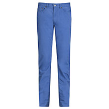 Buy Polo Ralph Lauren Stretch Cotton Trousers, Vintage Royal Online at johnlewis.com
