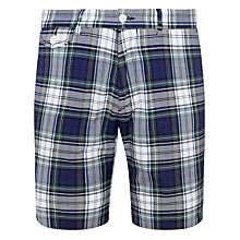 Buy Polo Ralph Lauren Check Shorts, Green/Blue Online at johnlewis.com