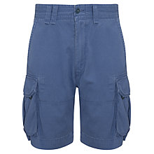 Buy Polo Ralph Lauren Cargo Shorts, Vintage Royal Online at johnlewis.com