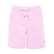 Buy Polo Ralph Lauren Gingham Swim Shorts Online at johnlewis.com