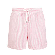 Buy Polo Ralph Lauren Stripe Swim Shorts Online at johnlewis.com