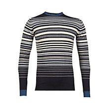Buy John Smedley Welsey Stripe Crew Neck Jumper Online at johnlewis.com