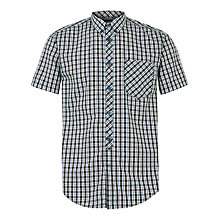 Buy Merc Christopher Check Short Sleeve Shirt Online at johnlewis.com