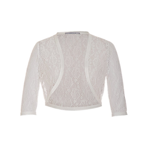 Buy Chesca Lace Bridal Bolero, Ivory Online at johnlewis.com