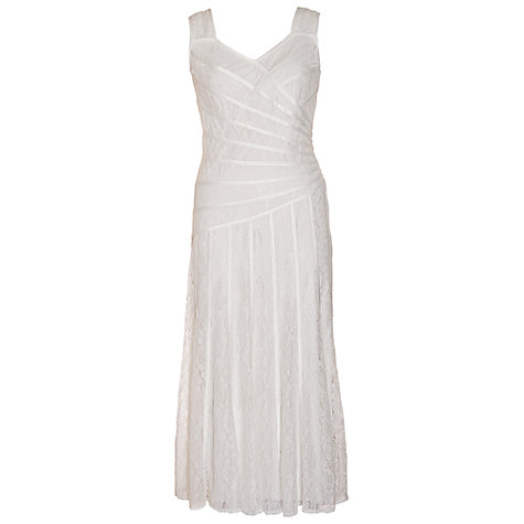 Buy Chesca Lace Wedding Dress, White Online at johnlewis.com