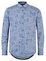 Merc Buford Long Sleeve Shirt, Blue