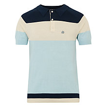 Buy Merc Gideon Block Short Sleeve Polo Shirt Online at johnlewis.com