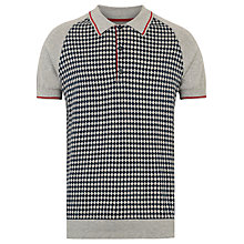 Buy Merc Leander Polo Shirt, Light Grey Marl Online at johnlewis.com