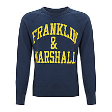 Buy Franklin & Marshall Arch Crew Neck Jumper Online at johnlewis.com