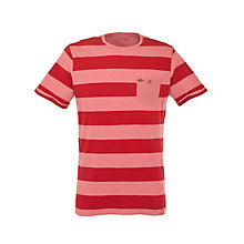 Buy Farah 1920 Column Stripe Short Sleeve T-Shirt Online at johnlewis.com