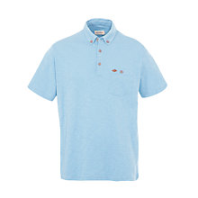 Buy Farah 1920 Slub Cotton Short Sleeve Polo Shirt Online at johnlewis.com
