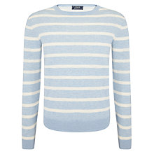 Buy Grayers Stripe Crew Neck Stripe Cotton Jumper Online at johnlewis.com
