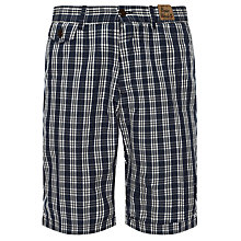 Buy Franklin & Marshall Check Chino Shorts Online at johnlewis.com