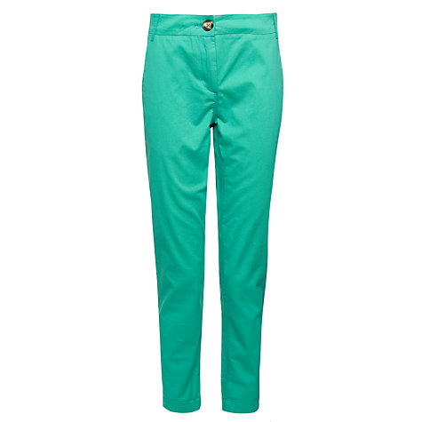 Buy Collection WEEKEND by John Lewis Ankle Cropped Chino Trousers Online at johnlewis.com