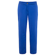 Buy Collection WEEKEND by John Lewis Ankle Cropped Chino Trousers, Marine Blue Online at johnlewis.com