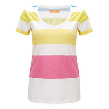 Buy Collection WEEKEND by John Lewis Block Stripe T-Shirt, Multi Online at johnlewis.com