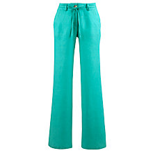 Buy John Lewis Linen Drawstring Trousers Online at johnlewis.com