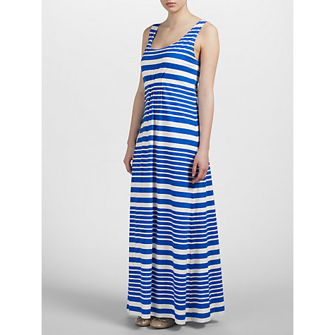 Buy Kin by John Lewis Striped Maxi Dress, Blue/White Online at johnlewis.com