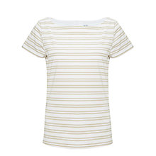 Buy Kin by John Lewis Slashed Neck Stripe Top Online at johnlewis.com