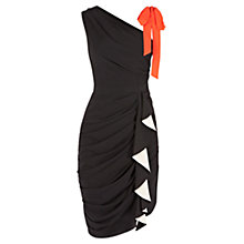 Buy Coast Harlem Dress, Black Online at johnlewis.com