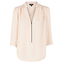 Buy Warehouse Zip Front Blouse Online at johnlewis.com