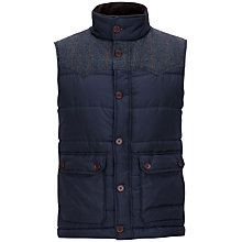 Buy Ted Baker Bunail Gilet, Navy Online at johnlewis.com