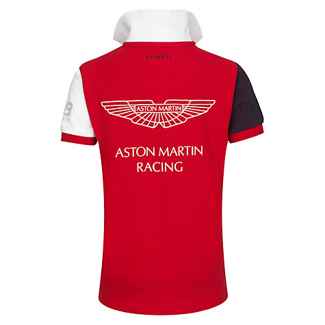 Buy Hackett Boys' Aston Martin Racing Polo Shirt Online at johnlewis.com