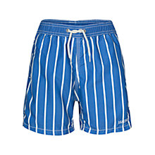 Buy Hackett London Striped Swim Shorts, Blue/White Online at johnlewis.com