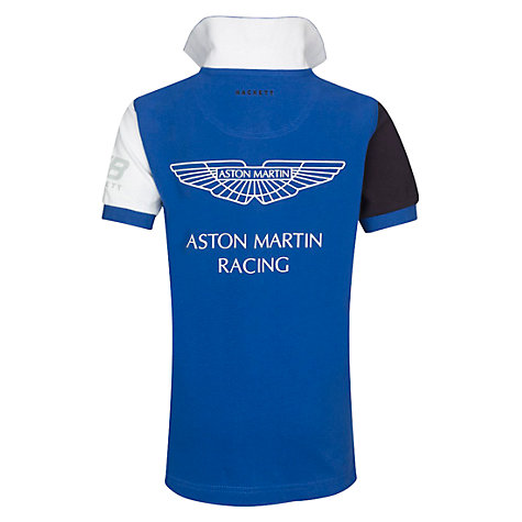 Buy Hackett London Boys' Aston Martin Racing Polo Shirt Online at johnlewis.com