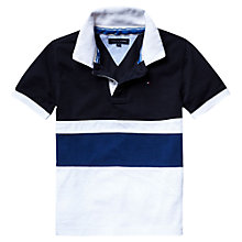 Buy Tommy Hilfiger Boys' Alonzo Polo Shirt, Blue Online at johnlewis.com