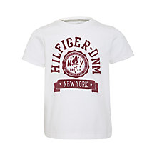 Buy Tommy Hilfiger Dean T-Shirt, White Online at johnlewis.com