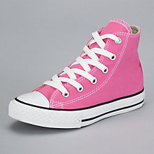 Buy Converse Chuck Taylor All Star Hi-Top Trainers, Carmine Online at johnlewis.com