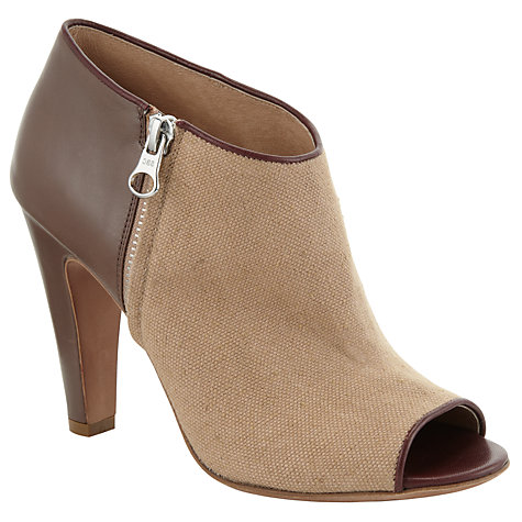 Buy See by Chloé X Martine Shoe Boot, Chocolate Online at johnlewis.com