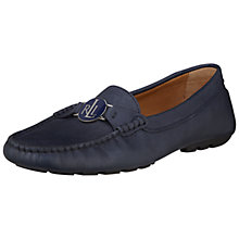 Buy Lauren by Ralph Lauren Carley Leather Moccasin Driving Shoes Online at johnlewis.com